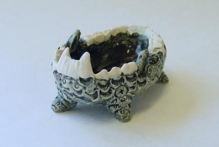 手工制作牙齿瓷碗 淘宝网