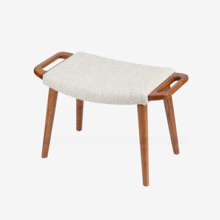 北欧实木沙发凳