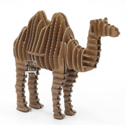 纸板手工制作动物牛图片
