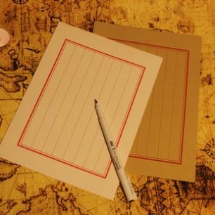 立体信纸简笔画