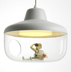矿泉水瓶手工制作吊灯