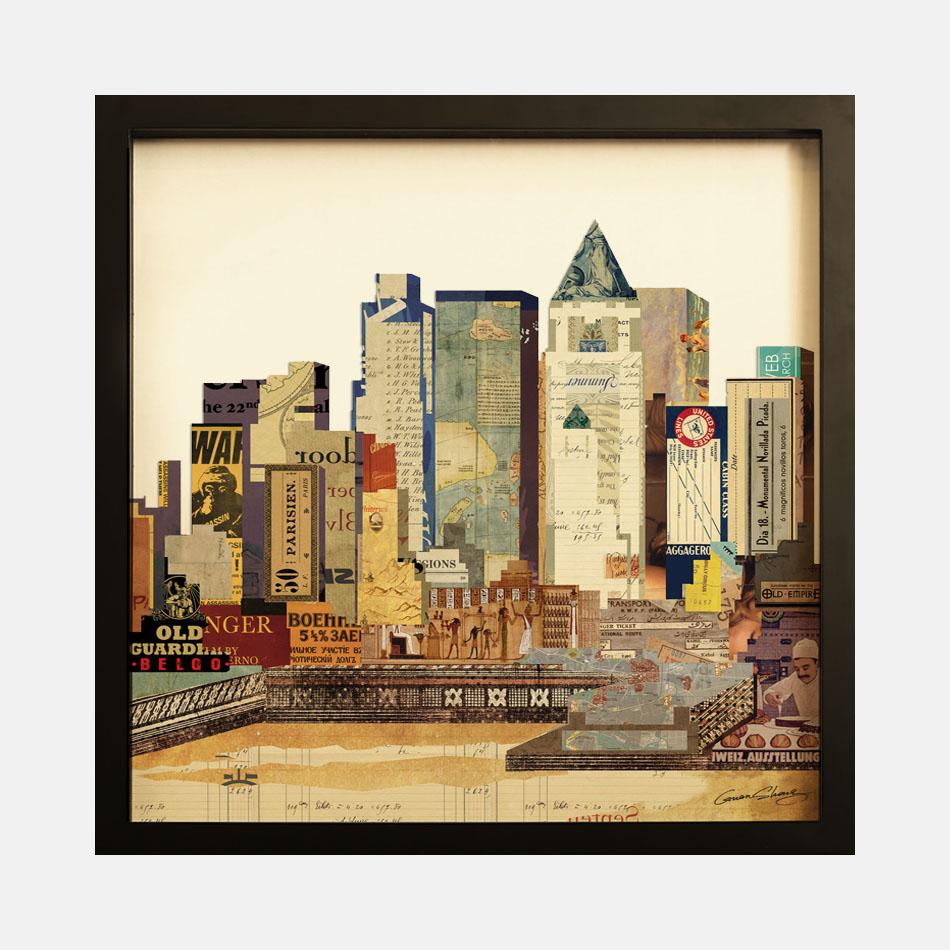 > 城市#1-拼贴画
